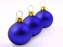 рождество 3 шариков Стоковые Фотографии RF