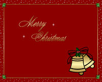 рождество 4 веселое Стоковое Изображение RF