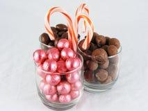 рождество 4 конфет стоковое изображение