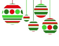 рождество 5 предпосылок Стоковое фото RF
