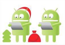 рождество android Стоковые Фотографии RF