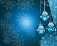 рождество bauble предпосылки Стоковая Фотография RF