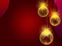 рождество bauble предпосылки Стоковое Изображение