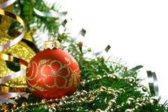 рождество bauble Стоковая Фотография RF