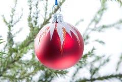 рождество bauble Стоковое Изображение