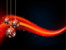 рождество baubles Стоковое фото RF