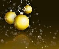 рождество baubles иллюстрация штока