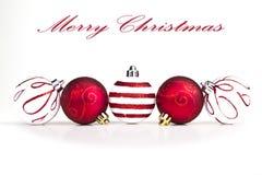 рождество baubles Стоковые Фото