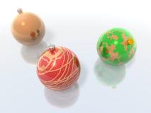рождество baubles бесплатная иллюстрация