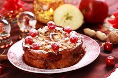 рождество charlotte торта Стоковые Изображения