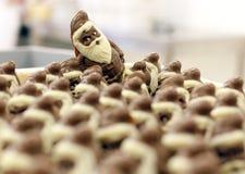 рождество claus santa шоколада Стоковое Изображение