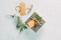 Рождество handcraft подарок стоковые фото