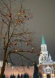 рождество moscow Стоковое Изображение RF