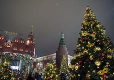 рождество moscow Стоковые Фото