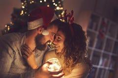 Рождество Romance стоковая фотография
