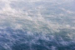 Рождение облаков на воде Стоковые Фото