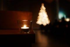 Рожденственская ночь Стоковое фото RF