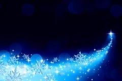 Рождественская елка в вашей руке - красный цвет бесплатная иллюстрация