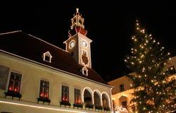 Рождественская елка, декабрь стоковое изображение rf