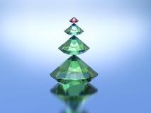 Рождественская елка диамантов Стоковые Фото