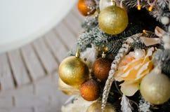 Рождественская елка игрушек Стоковые Изображения RF