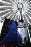 Рождественская елка на Potsdamer Plaz Стоковые Изображения