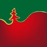Рождественская елка предпосылки рождества штрихует символ Стоковое Изображение