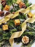 Рождественская елка предпосылки Стоковые Изображения RF