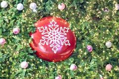 Рождественская елка предпосылки. Стоковая Фотография RF