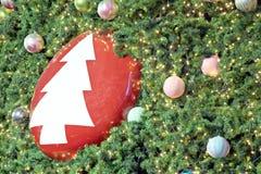 Рождественская елка предпосылки. Стоковые Изображения RF