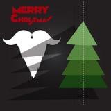 Рождественская елка, Санта Клаус Стоковые Изображения RF