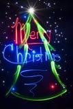 Рождественская елка - светлый конспект картины стоковое фото rf