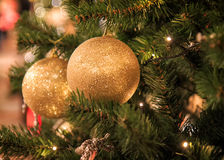 Рождественская елка украшения Нового Года Стоковые Фотографии RF
