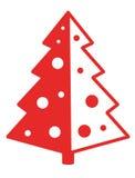 1 рождественская елка Стоковое Изображение RF