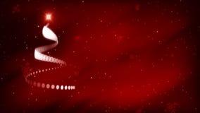 Рождественская елка Anim 1 - ПЕТЛЯ иллюстрация вектора