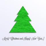 Рождественская елка papeer crep Стоковая Фотография RF