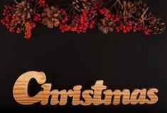 Рождественская открытка - изображение запаса Стоковые Фотографии RF