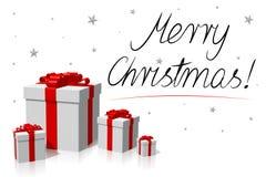 Рождественская открытка - с Рождеством Христовым! бесплатная иллюстрация