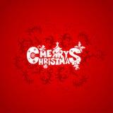 Рождественская открытка Стоковое Изображение RF