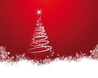Рождественская открытка Стоковые Изображения RF