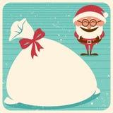 Рождественская открытка 3 Стоковое фото RF