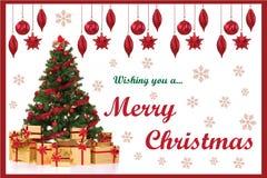 Рождественская открытка 01 Стоковые Фотографии RF