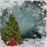 Рождественская открытка Стоковые Изображения
