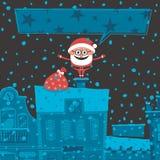 Рождественская открытка 6 Стоковое фото RF