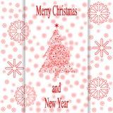 Рождественская открытка M1 Стоковое Изображение