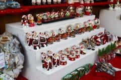Рождественская ярмарка Будапешта в Будапеште, Венгрии, 2015 Стоковое Изображение