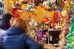Рождественская ярмарка Стоковые Фотографии RF