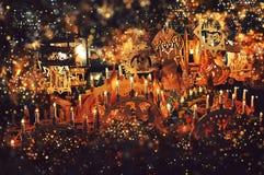 Рождественская ярмарка Стоковые Изображения RF