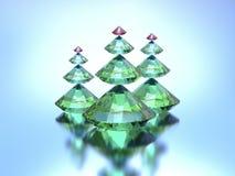 Рождественские елки диамантов Стоковое Изображение RF