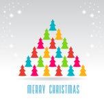 Рождественские елки Стоковые Фотографии RF